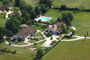 Vakantiehuis Frankrijk Domaine Piscine Zembad Jardin gite Charme vacances Vignal Monflanquin